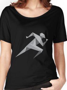 run geek computer Women's Relaxed Fit T-Shirt