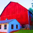 Wells Tannery, Pennsylvania Barn by Kimberly Scott
