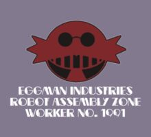 Eggman Industries Employee 1991 by thethorn