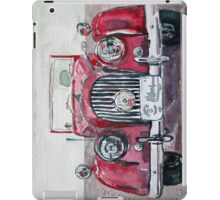 Morgan Red Car iPad Case/Skin
