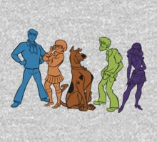 Mystery INC. by bertviles