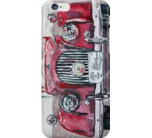 Morgan Red Car iPhone Case/Skin