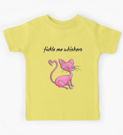 Pretty Kitty, Bright and Pink! Kids Tee