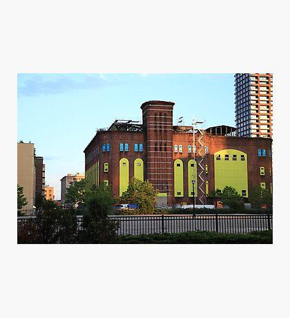 Old H&M Powerhouse Jersey City NJ Photographic Print