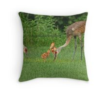A Beautiful Family ~ Throw Pillow