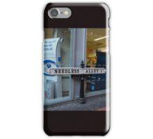 Needless Alley iPhone Case/Skin
