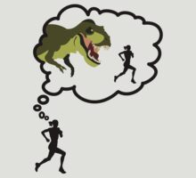 I Run Because... Dinosaurs. by mrsxandamere