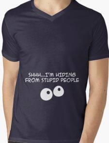Stupid People Mens V-Neck T-Shirt