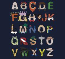 Oz-abet (an Oz Alphabet) One Piece - Long Sleeve