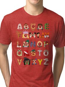 Oz-abet (an Oz Alphabet) Tri-blend T-Shirt
