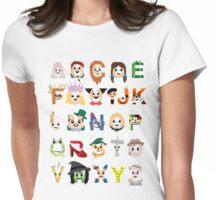 Oz-abet (an Oz Alphabet) Womens Fitted T-Shirt