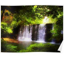 Wonderous Waterfall Poster