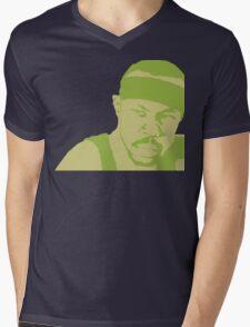 Avon Barksdale Mens V-Neck T-Shirt