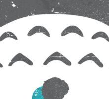 Totoro Silhouette Sticker