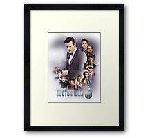 doctor who - 50 years of... Framed Print