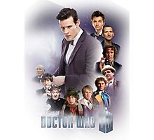 doctor who - 50 years of... Photographic Print