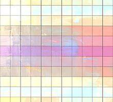 Color Grid - Digital Art Print by WayfarerPrints