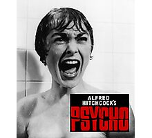 Alfred Hitchcock's Psycho Photographic Print