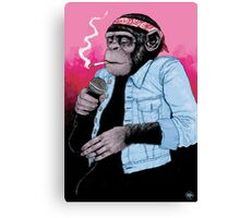 Wet Chimp Canvas Print
