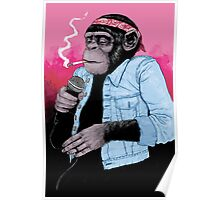 Wet Chimp Poster