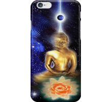 light spirit buddha iPhone Case/Skin