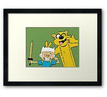Calvin time Framed Print