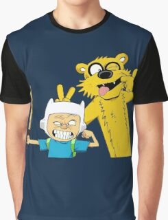 Calvin time Graphic T-Shirt