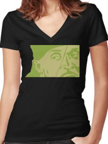 Omar Women's Fitted V-Neck T-Shirt