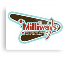 Milliways: the Restaurant at the End of the Universe Metal Print