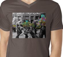 Police Mens V-Neck T-Shirt