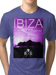 Ibiza - Chillout Sessions Purple Tri-blend T-Shirt