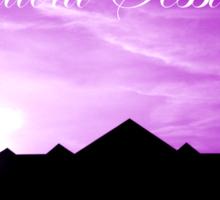 Ibiza - Chillout Sessions Purple Sticker
