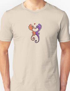Seahorse Bubble Kisses Unisex T-Shirt