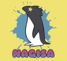 Free!  Nagisa's Penguin Tee Kids Tee