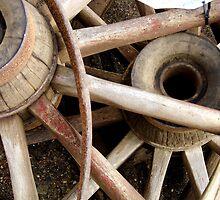 Wheels For Sale by WildestArt
