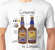 Conceived in Limassol Unisex T-Shirt