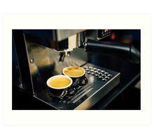 Coffee Time Art Print