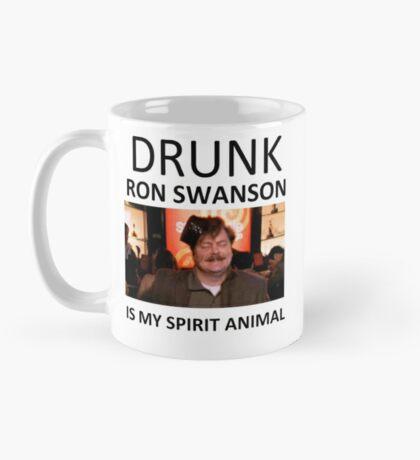 Drunk Ron Swanson is my Spirit Animal Mug