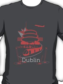 Journey With Dublin [red version] T-Shirt