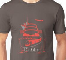 Journey With Dublin [red version] Unisex T-Shirt