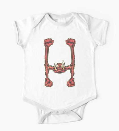 H is for Hammer Hands One Piece - Short Sleeve