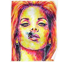 BEE STUNG LIPS / Lana Del Rey Poster