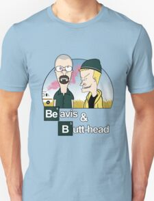 Beavis and Butthead Breaking Bad T-Shirt