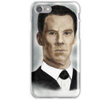 Benedict Cumberbatch as Sherlock Holmes iPhone Case/Skin