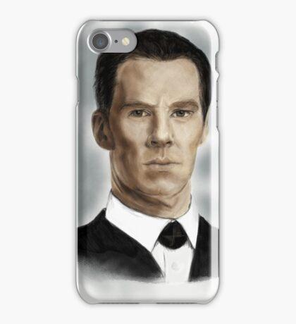 Benedict Cumberbatch as Sherlock Holmes iPhone Case/Skin