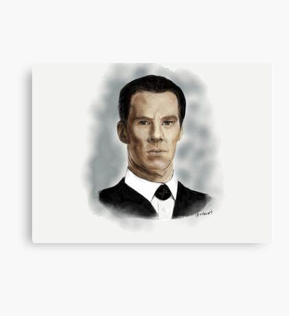 Benedict Cumberbatch as Sherlock Holmes Canvas Print