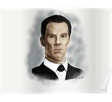 Benedict Cumberbatch as Sherlock Holmes Poster