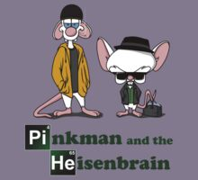 Pinkman and the Heisenbrain T-Shirt