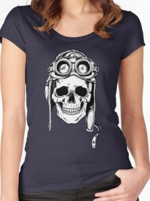 WWII Flying Ace Women's Fitted Scoop T-Shirt