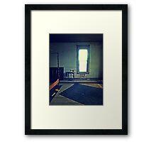 hotel singer Framed Print
